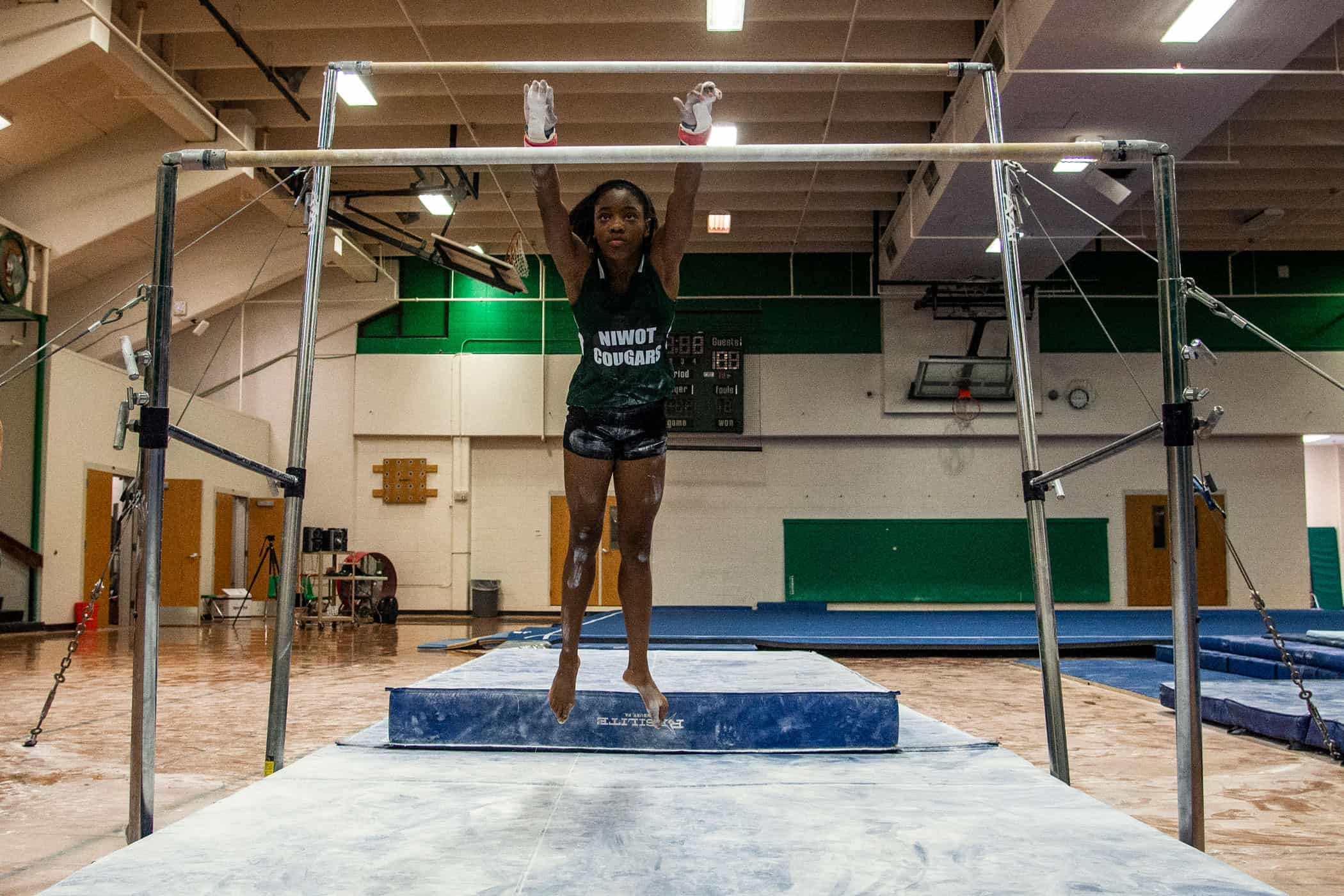 gymnast athlete